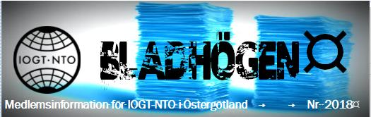 Bladhogen-Logga
